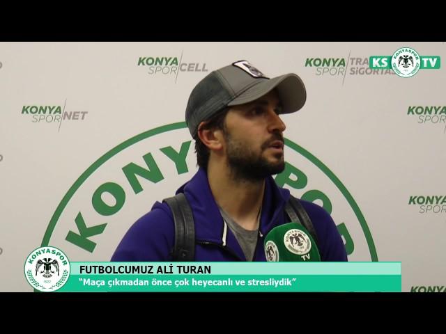 """Ali Turan """"Bu sene bu kupa alınacak"""""""