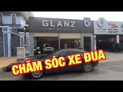 Ghé thăm GLANZ xem Chăm sóc xe đua và Rửa xe không chạm