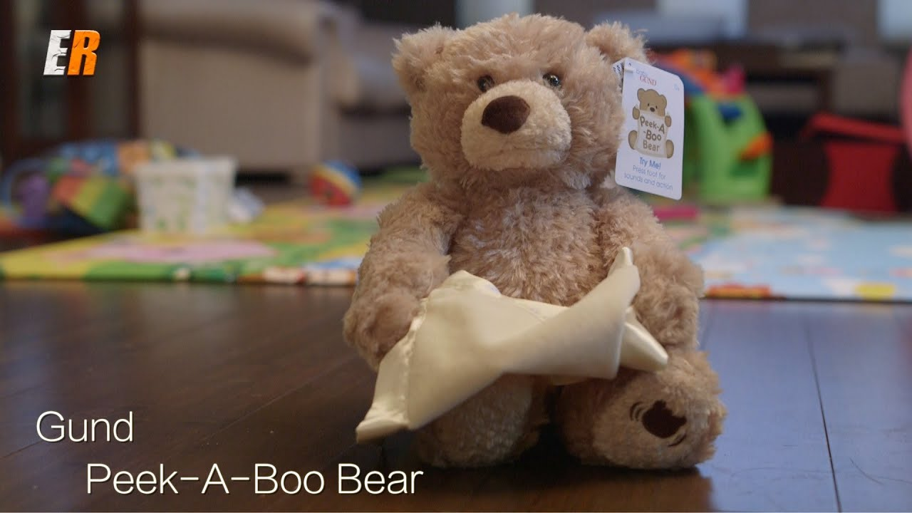 gund peek a boo review