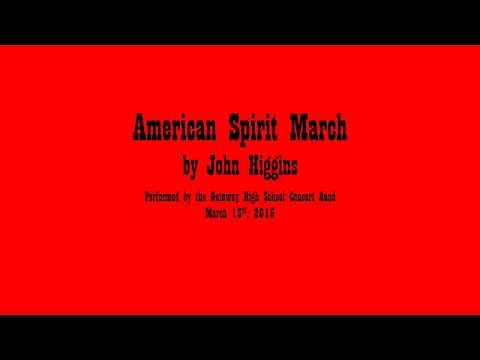 American Spirit March by John Higgins