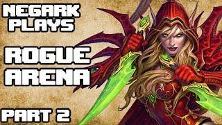 Gambar cover [02] Negark Plays Hearthstone Rogue Arena Gameplay Part 2 - Game 2