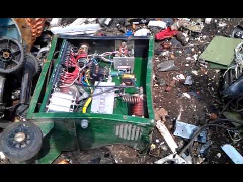 scrap yard visit