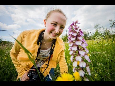 Mit Artenfinderin Anna unterwegs: Engagement im Sinne der Natur
