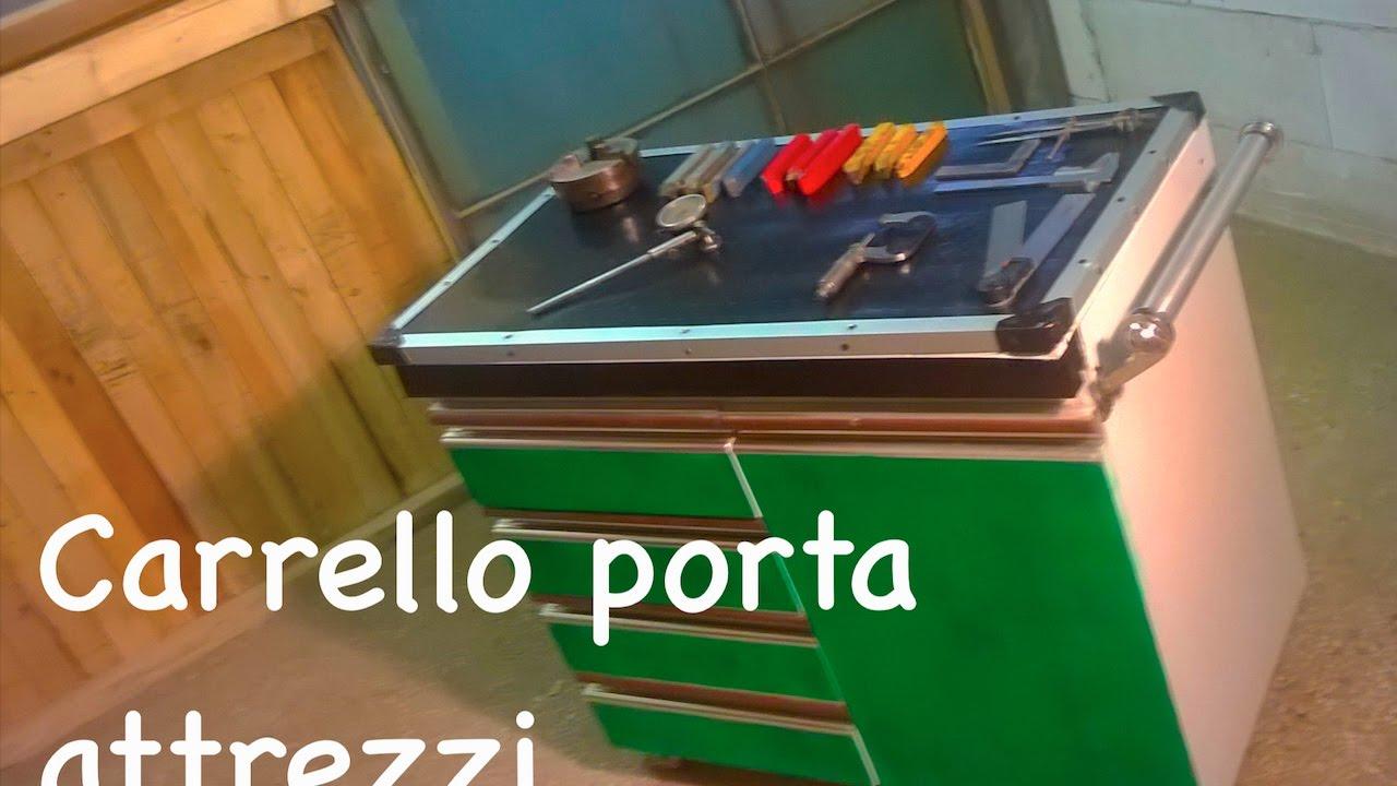 Make carrello porta attrezzi youtube - Porta attrezzi giardino fai da te ...