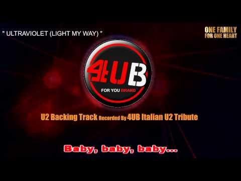 "U2 ""Ultraviolet (Light My Way)"" Backing Track 