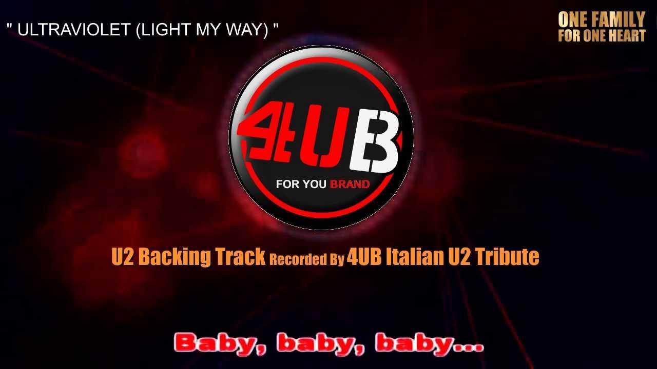 Download ultraviolet (light my way) sheet music by u2 sheet.