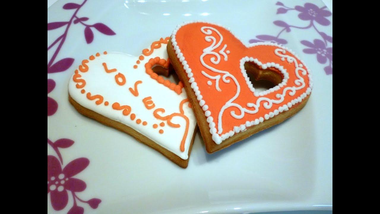 Biscotti di san valentino in ghiaccia reale by for Pensierini di san valentino