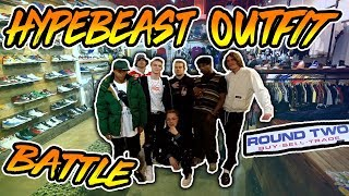 Ultimate Hypebeast Outfit Challenge at Round Two ft. PAQ