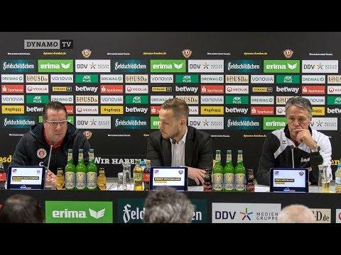 19. Spieltag | SGD - FCSP | Pressekonferenz nach dem Spiel
