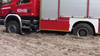 Scania P400 4x4 ISS Wawrzaszek Test w terenie OSP Łobudzice