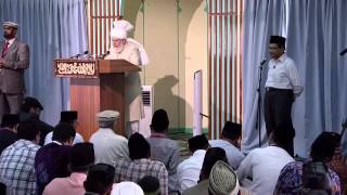Friday Sermon: 27th September 2013 (Urdu)