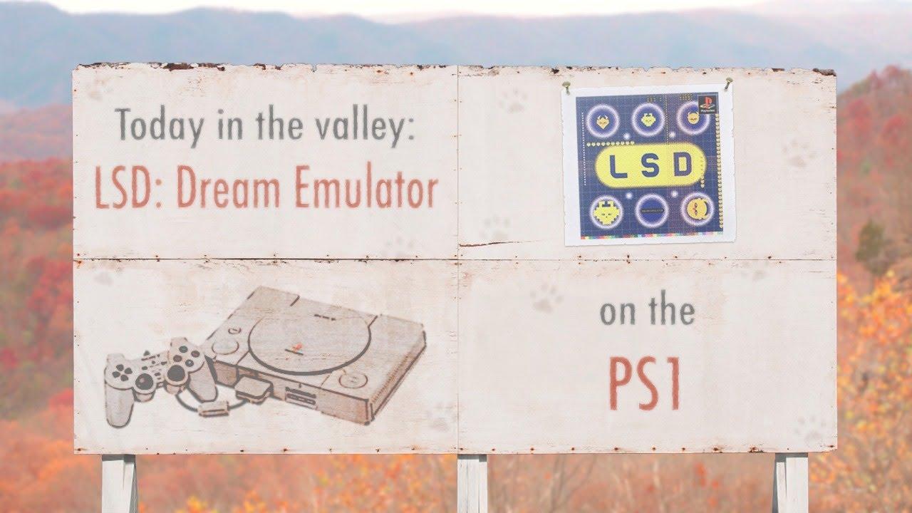 LSD: Dream Emulator (PS1) | The Video Game Valley