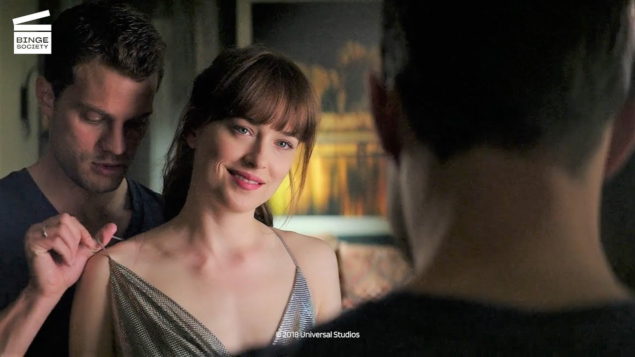 Download Fifty Shades Freed: Party dress HD CLIP