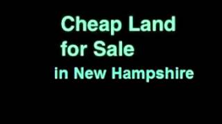 Cheap Land for Sale in New Hampshire – 1 Acre – Dover, NH 03822