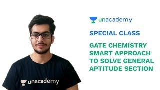 Special Class - GATE Chemistry | Smart Approach to Solve General Aptitude Section - A Sethi