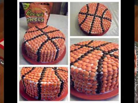 Easy Basketball cake decorations   YouTube Easy Basketball cake decorations