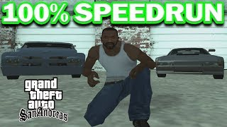 Grand Theft Auto: San Andreas 100% Speedrun [15:59:06]