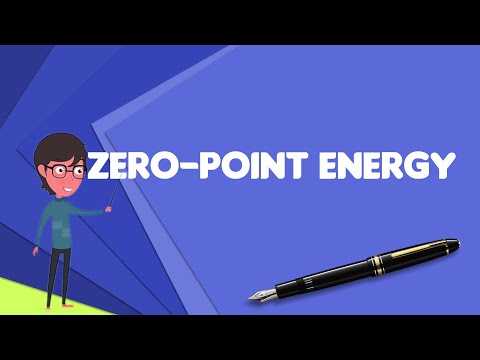 What is Zero-point energy?, Explain Zero-point energy, Define Zero-point energy