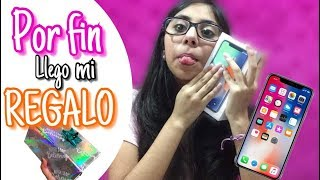 RECIBI MI IPHONE X / UNBOXING IPHONE X 🎁🎉💞 || Vale Bolaños