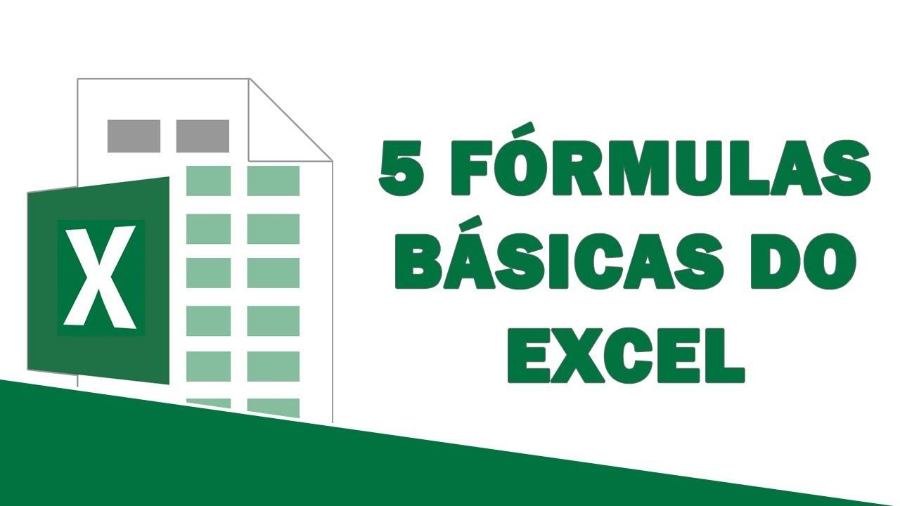 As 20 FÓRMULAS BÁSICAS do Excel que você TEM QUE APRENDER antes do PROCV