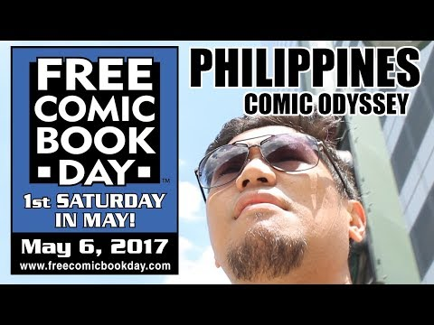 Free Comic Book Day 2017 Philippines Vlog