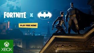 Fortnite X Batman: Announce Trailer