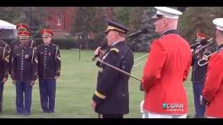 General Martin Dempsey sings