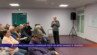 Yvelines | Guy Malandain en campagne pour un 4ème mandat à Trappes