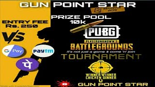 Pubg Mobile live Giveaway Daily Free Entry Custom 22 Aug2020 [Gun Point Star Live Now] Erangel 2.0
