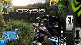 Crysis 3 Very High Settings 4K | GTX 1080 SLI | i7 5960X 4.5GHz