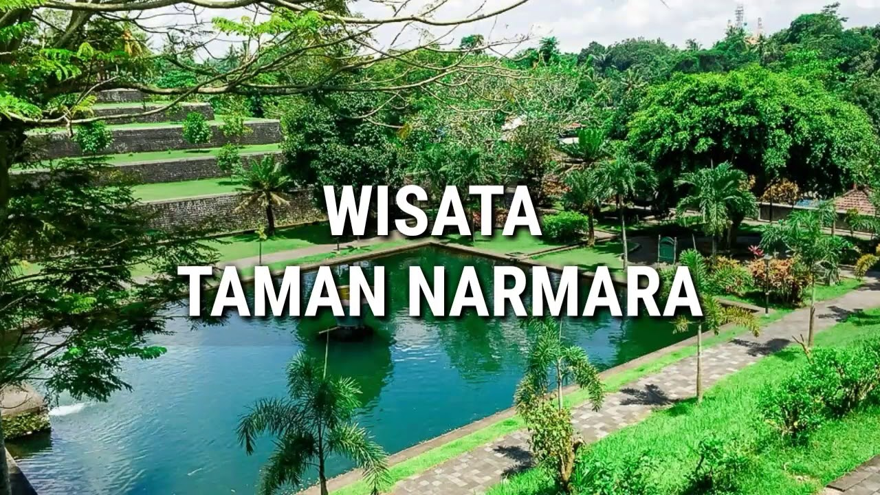 Tempat Wisata Lombok Terbaru Taman Narmada Youtube