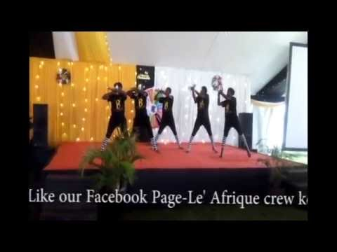 L'AFRIQUE CREW- CHRISTMAS IN AFRICA .(DAVIDO FT UHURU- THE SOUND)