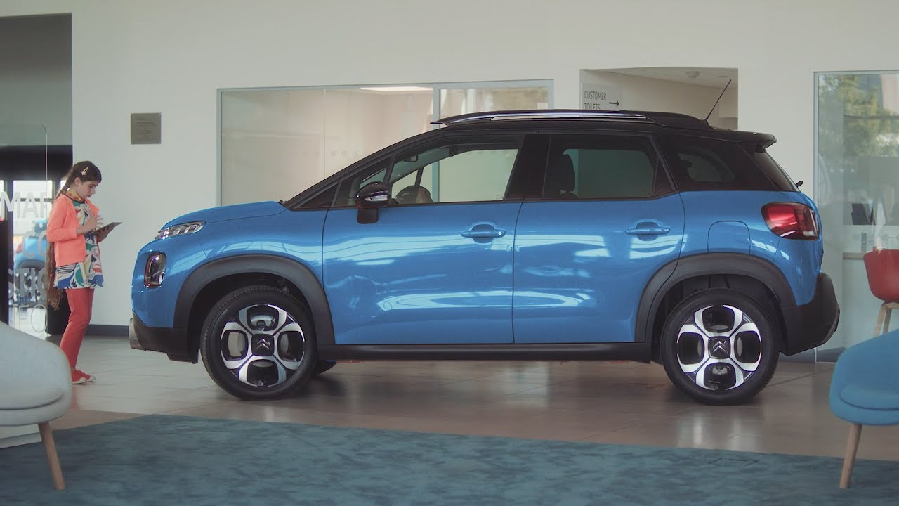 Choosing a New Citroën C3 Aircross is child's play (sponsored