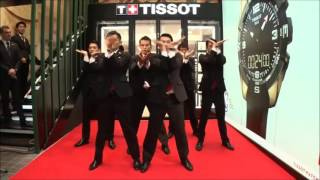 Tissot Watch Boutique Opening in Osaka with World Order