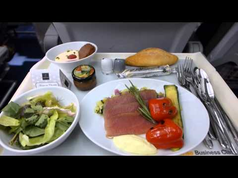 Lufthansa Business Class Frankfurt-Cairo A321 June 2014