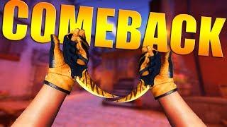 Counter Strike Global Offensive - ოცნების დანა და Comeback