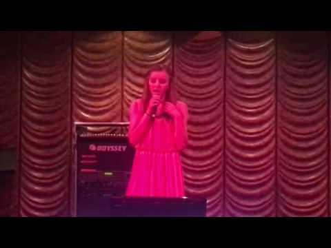 Prairie karaoke Oct 2016 Jesus Take the Wheel