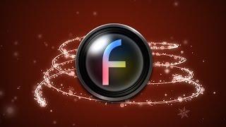 Christmas Tree Template - Free HD Stock Video