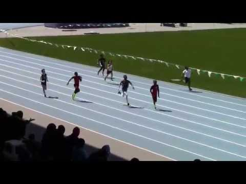 Icahn Stadium 2015 11 & 12 boys 100m Claude Shepherd