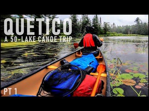 Our 2-WEEK/50-LAKE Canoe Trip Through The Quetico Wilderness (PART 1)
