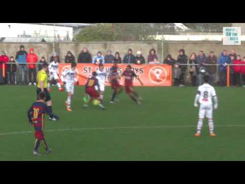 Lyon vs  FC Barcelona - Semi Final Academy Cup 2016