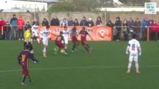 Lyon vs  FC Barcelona - Semi Final Academy Cup 2016