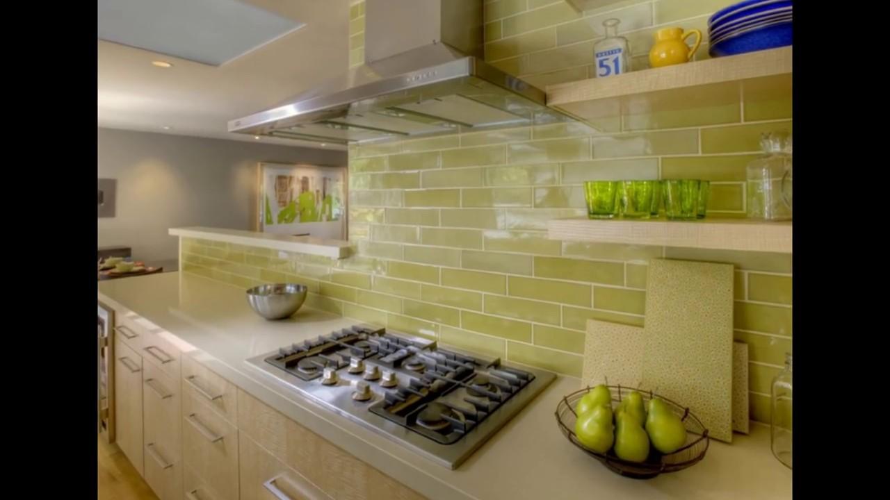 кухня в оливковом цвете дизайн фото 3