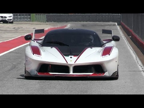 Ferrari FXX K High Speed Close Fly Bys On Track!!