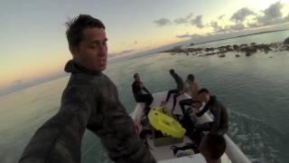 Spearfishing French Polynesia Dogtooth Tuna 10 and 15 kg