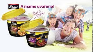 Chilli con carne nebo Pikantní červená čočka s uzeným masem | Hotová jídla Hamé