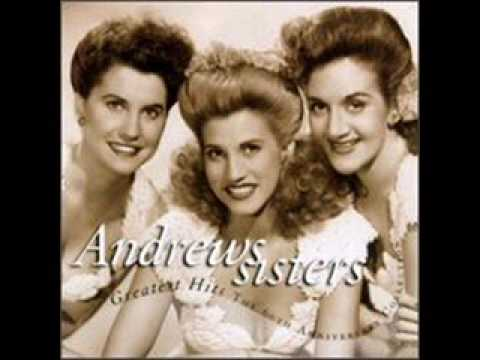 The Andrews Sisters -  A Bushel and a Peck