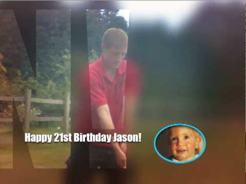 Jason's 21st Birthday DVD created by www.PhotoSlideshowDVDs.co.uk