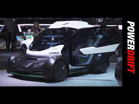Airbus Italdesign PopUp : Geneva Motor Show : PowerDrift