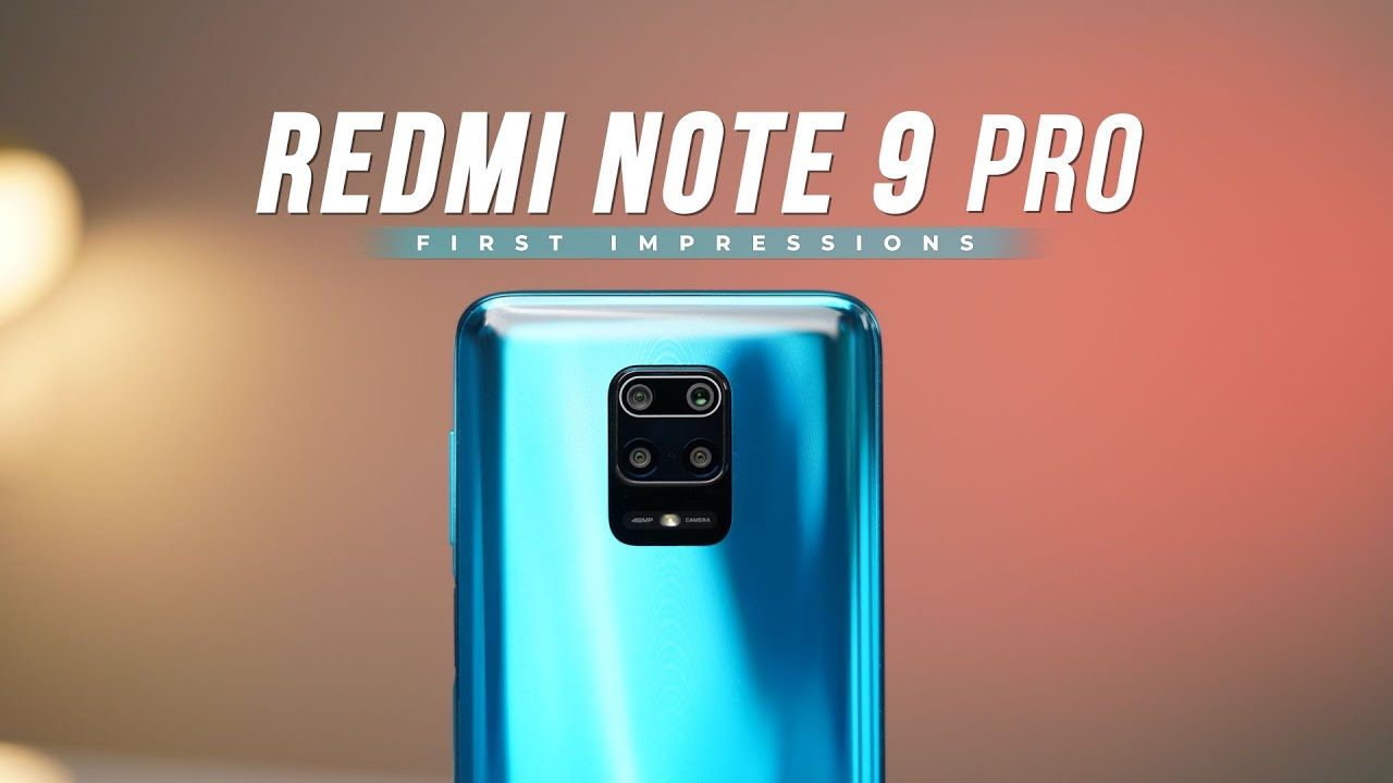 Redmi Note 9 Pro First Impressions: Mixed Feelings!